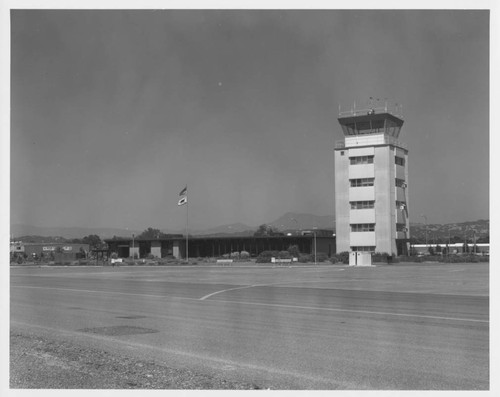 Control tower and terminal building