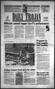 Daily Trojan, Vol. 135, No. 43, November 03, 1998