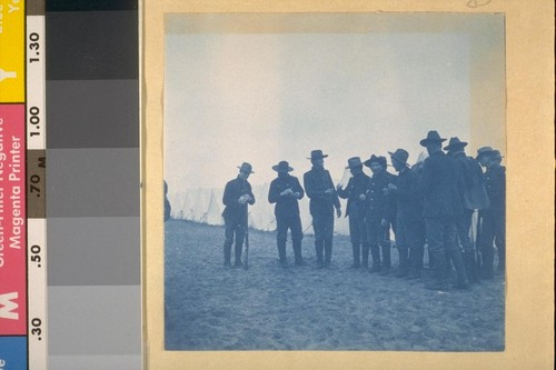 Getting ready to go on Guard; 13th Minnesota Volunteers