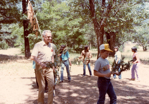 Participants at the Greenville Bear Dance--1983