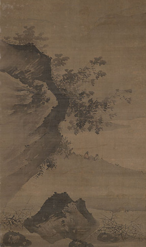 Landscape with Two Seated Scholars (in the manner of Chiang Sung) 1550