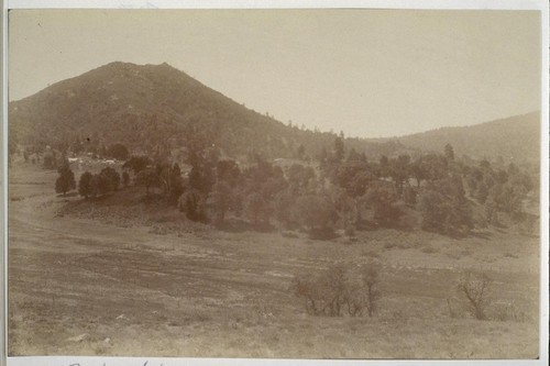 [View of unidentified valley. Near Stonewall Mine?]