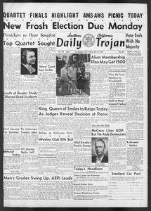 Daily Trojan, Vol. 42, No. 30, October 27, 1950