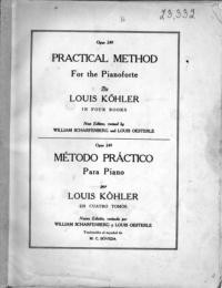 Practical Method for the Pianoforte. Opus 249