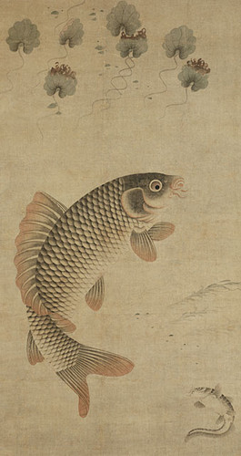 Fish and Water Plants (in the tradition of Miu Fu (15th c.)) 15 century A.D