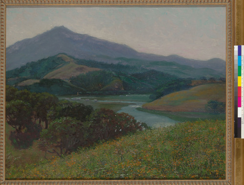 Mount Tamalpais from Corte Madera Creek