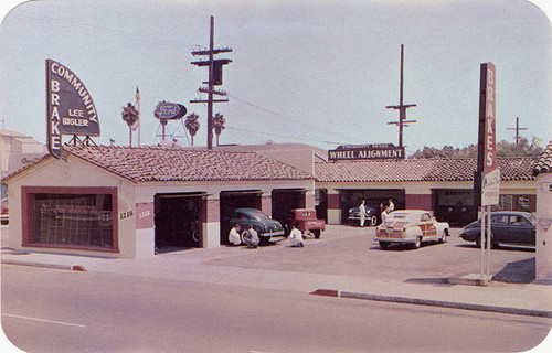 Community Brake and Speedometer Service at 1218 Santa Monica Blvd., Santa Monica, Calif