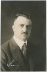 Amadeo P. Giannini, President & founder, Bank of Italy, born on May 6, 1870, San Jose, California