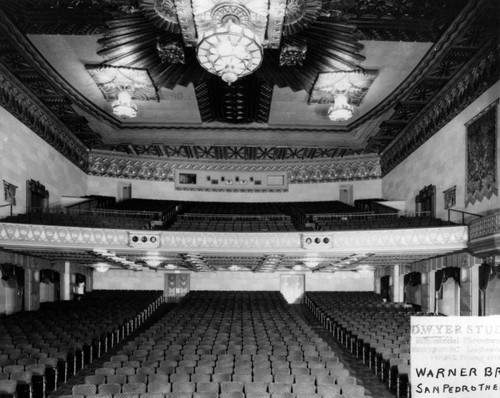 Warner Grand Theater in San Pedro, Los Angeles
