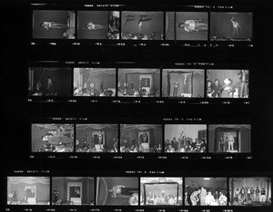 """Free the Slaves"" benefit contact sheets"