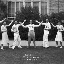 Sacramento High School 1937 Yell Leaders