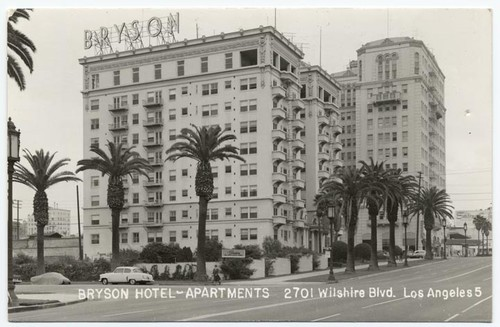 Bryson Hotel Apartments 2701 Wilshire Blvd. Los Angeles 5