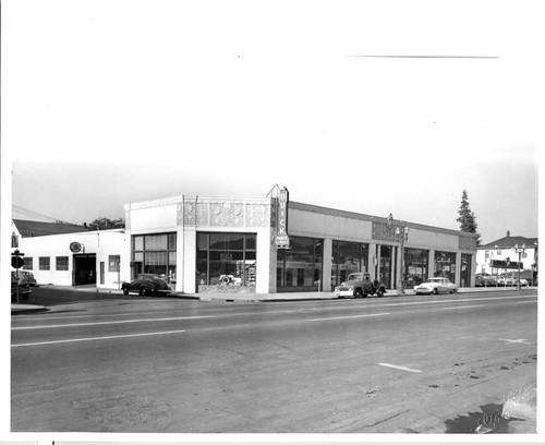 Calisphere Fletcher Motor Company Buick Dealership - Buick dealership