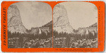 The Cap of Liberty, 4,000 feet above Yo-Semite Valley, and Nevada Fall, 700 feet high, Mariposa Co., # 1120