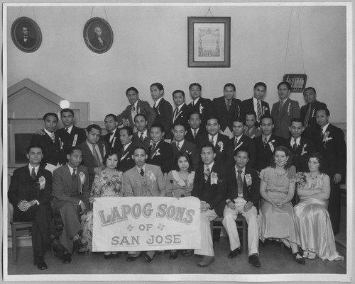 Group photo of the Lapog Sons of San Jose [ca. 1930]