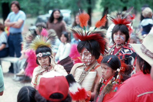 Young dancers at the Janesville Bear Dance--1982