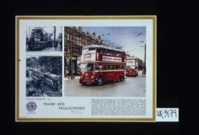 London's transport. No. 4. Trams and trolleybuses