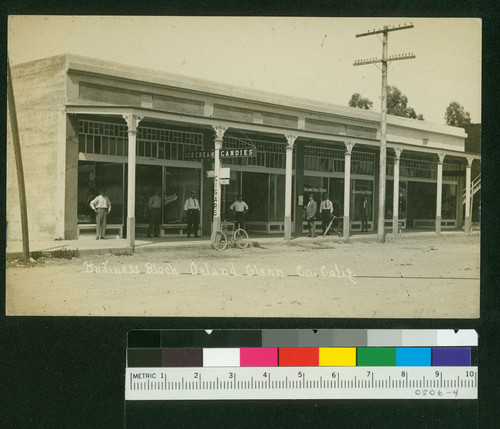 Business Block, Orland Glenn Co. Calif