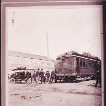 Pacific Electric Railway No. 213 at Monrovia