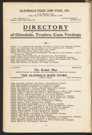 Glendale City Directory 1915-1916