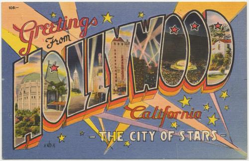 Calisphere greetings from hollywood california the city of stars greetings from hollywood california the city of stars 108 m4hsunfo