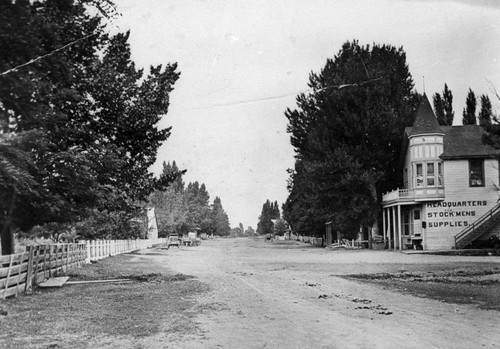 Street in Eagleville, California
