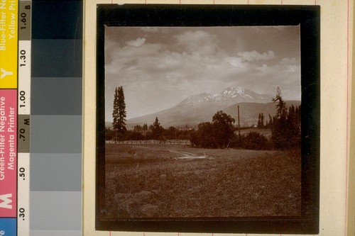 Mt. Shasta from Sisson Meadows