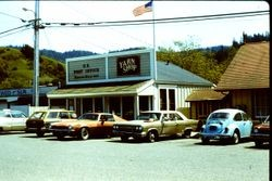 Duncans Mills U. S. Post Office and Yarn Shop, April 1983