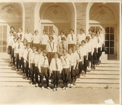 Analy High School Girl Reserves organization, 1927