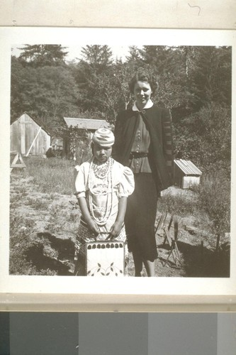 JLC and Patty Lopez, Smith River, Calif. June 18, 1938