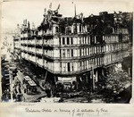 Baldwin Hotel on morning of its destruction by fire.