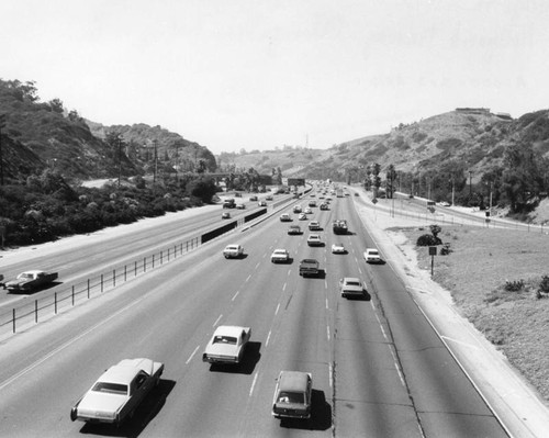 Hollywood Freeway and Cahuenga Pass