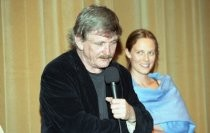 "Paul Cox and Marta Dusseldorp at the screening of ""Innocence"" at the Mill Valley Film Festival, 2000"