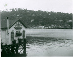A house called Snug Harbor situated at the foot of the hill between Belvedere and Tiburon (2 views)