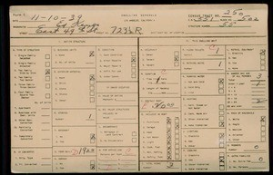 WPA household census for 723 E 49TH ST, Los Angeles County