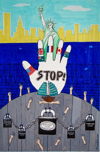Stop, by Trinh Do
