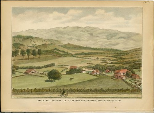Branch, J. F., Ranch and Residence, Arroyo Grande
