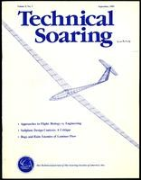 Natural and artificial flying machines, Technical Soaring Vol. 9, No. 3 (9 items)