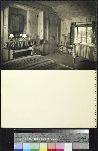 Knutsson, Mr. & Mrs. Roger L., residence. Bedroom