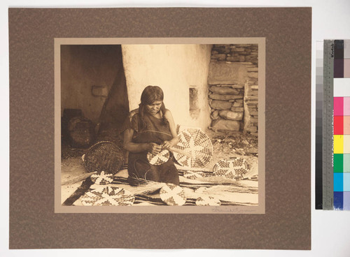Sipaulovi Basket Maker, Hopiland, Arizona