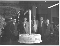 50th anniversary celebration of the Bank of Sonoma County, 1954