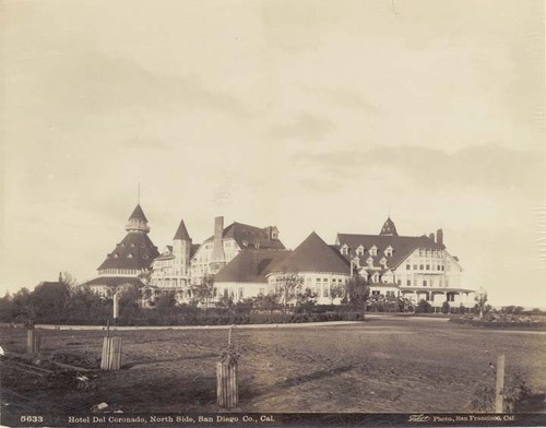 Hotel Del Coronado, North Side, San Diego Co., Cal. # 5633.