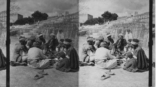 calisphere natives feasting jerusalem palestine