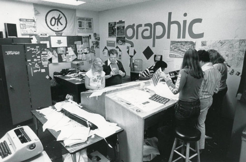 Student publications office, 1981
