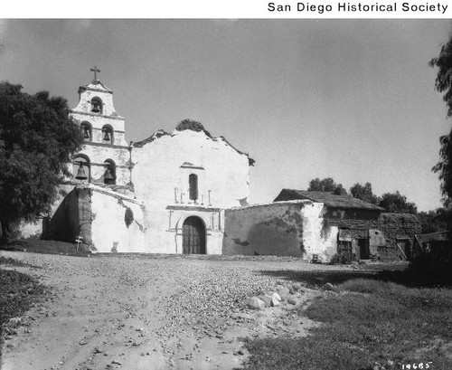 Exterior of the Mission San Diego de Alcala
