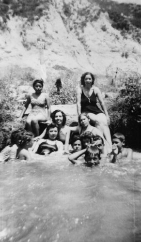 Family at Santa Ana River