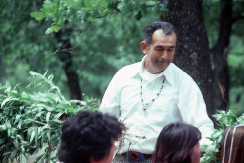Tom Merino at the Greenville Bear Dance--1982
