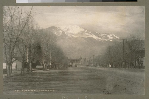 Pike's Peak Ave., Colo. [Colorado] Springs [Colorado]. A300