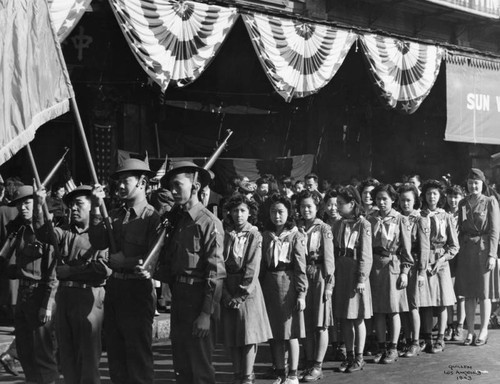 Chinese American Girl Scouts