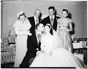 Golden Anniversary, Silver and marriage in Esswein family, 1952